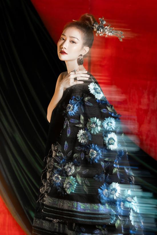 Váy đi tiệc theo phong cách Á Đông - 6