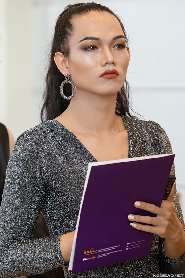 Boho Nguyễn Lâm - thí sinh chuyển giới tại vòng sơ khảo phía Bắc Hoa hậu Hoàn vũ Việt Nam.