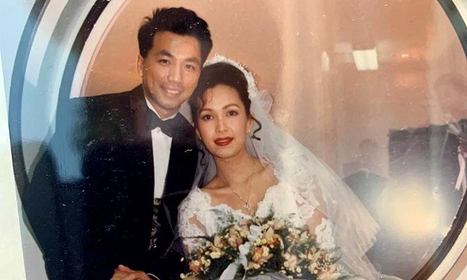 Ảnh cưới năm 1994 của Diễm My