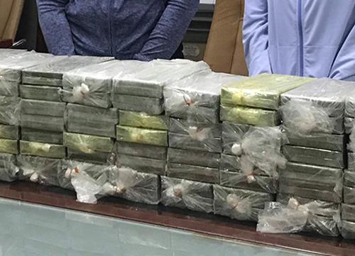Số tang vật tại Cục CSĐT tội phạm về ma túy.