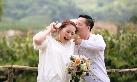 Vợ chồng Phan Như Thảo ôn chuyện tình