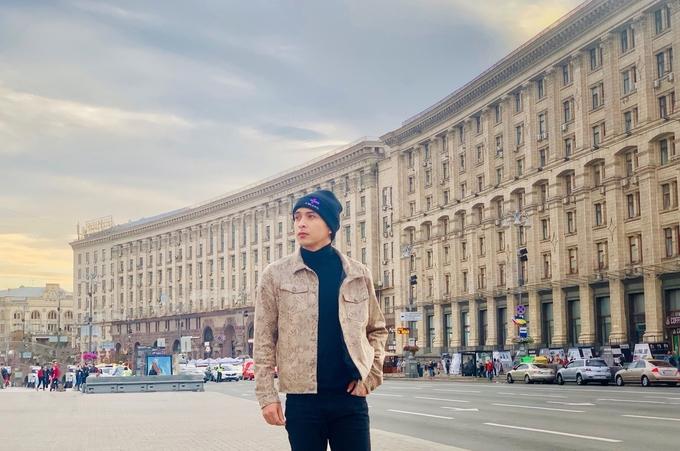 Hồ Quang Hiếu 'phải lòng' Ukraine