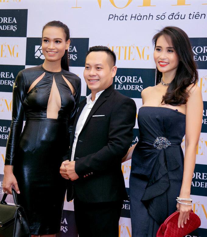 Siêu Mẫu Hăng Nie xuất hiện với vai trò Huấn luyện viên Cat Walk Hoa hậu Việt Hoàn vũ 2020.