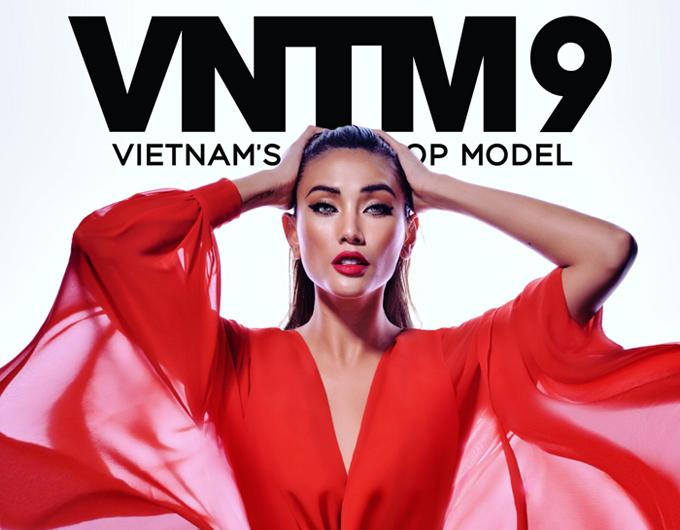 Võ Hoàng Yến làm host Vietnams Next Top Model