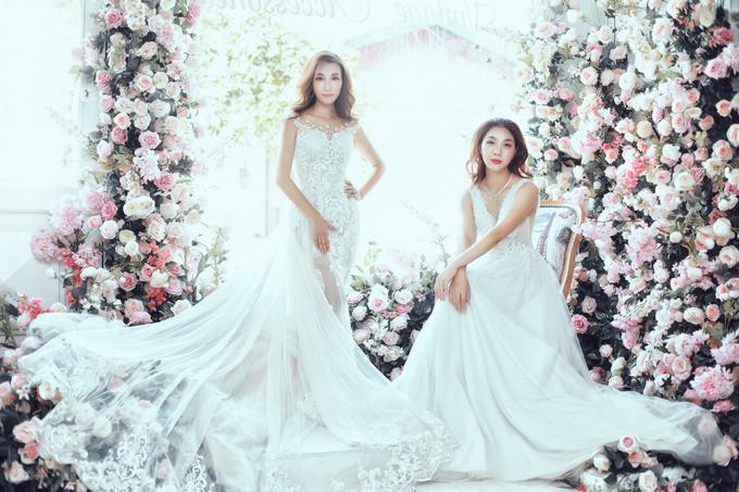 Xu hướng váy cưới hiện nay đề cao sự tinh tế, tối giản.