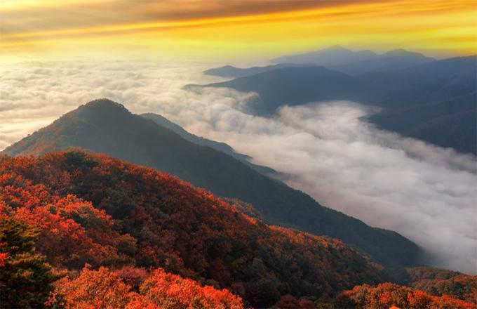 Điểm ngắm mùa thu ở châu Á - 3