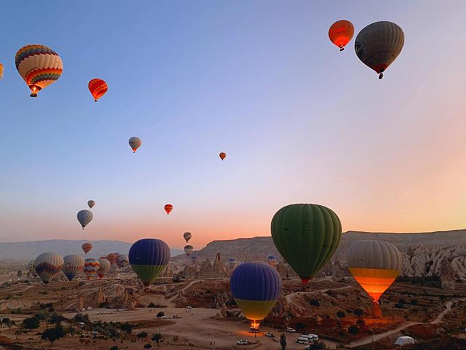 Quang Vinh bay lơ lửng ở Thổ Nhĩ Kỳ - 3