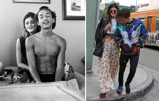 Kylie Jenner và Jaden Smith từng hẹn hò vào năm 2013 khi cả hai vẫn còn ở tuổi teen. Họ vốn thân thiết từ nhỏ vì đều là những rick kids ở Hollywood. Theo E!News, cả hai đều là mối tình đầu của nhau. Sau khi chia tay, Kylie và sao Karate Kid vẫn giữ mối quan hệ bạn bè. Người yêu sau này của Kylie là rapper gốc Việt Tyga từng nổi cơn ghen khi Kylie vẫn gặp gỡ Jaden.