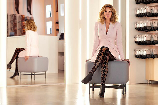 Nữ diễn viên sinh tới thành phố Verona, Italy để thực hiện bộ ảnh và phim quảng cáo.