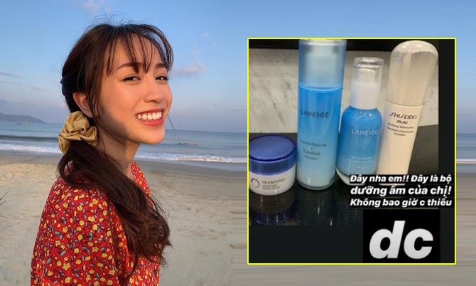 Con gái Minh 'Nhựa' giữ da căng mịn nhờ chăm dưỡng ẩm