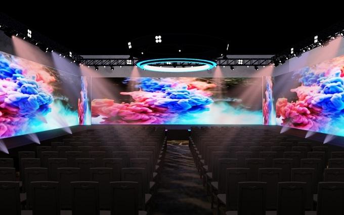 Sân khấu tổ chức các workshop.