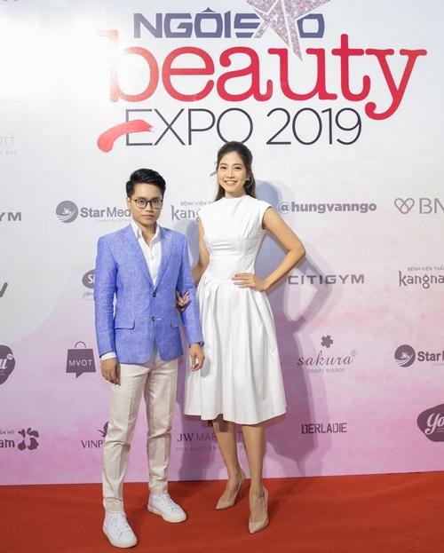 Quang Nhật và Ninh Hoàng Ngân - khách mời của workshop Định hình phong cách cá nhân.