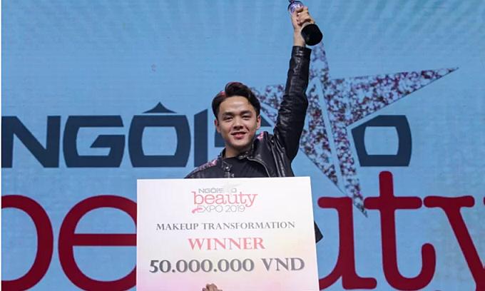 Quán quân 'Makeup Transfomation' chiến thắng nhờ Minh Tú tiếp động lực