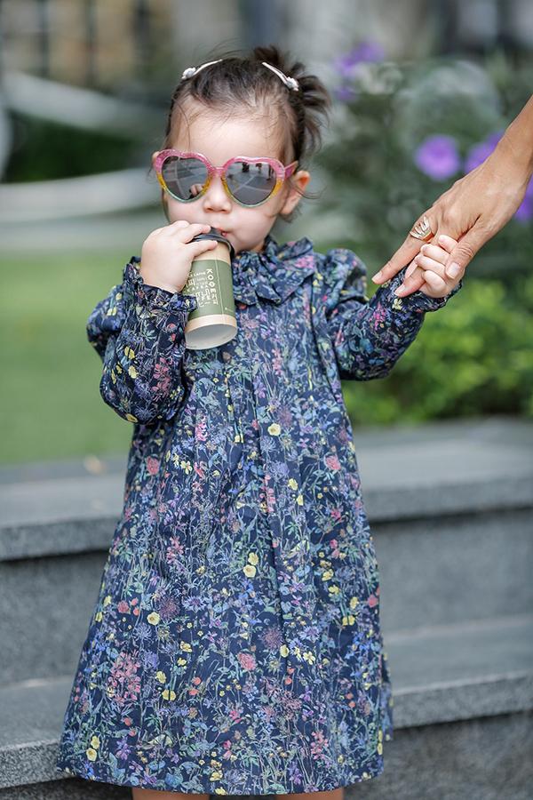 Cô bé được nhiều gọi là fashionista nhí của showbiz Việt.