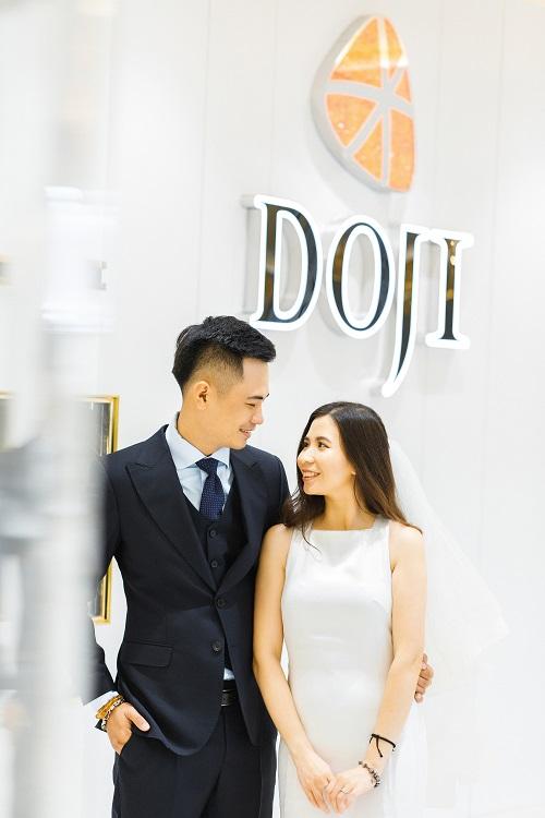 Tình yêu của Phương Trang và Phạm Hùng khởi đầu vào tháng 9 mùa thu.