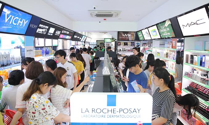 Hasaki ra mắt chi nhánh mới, quy tụ hơn 500 thương hiệu mỹ phẩm