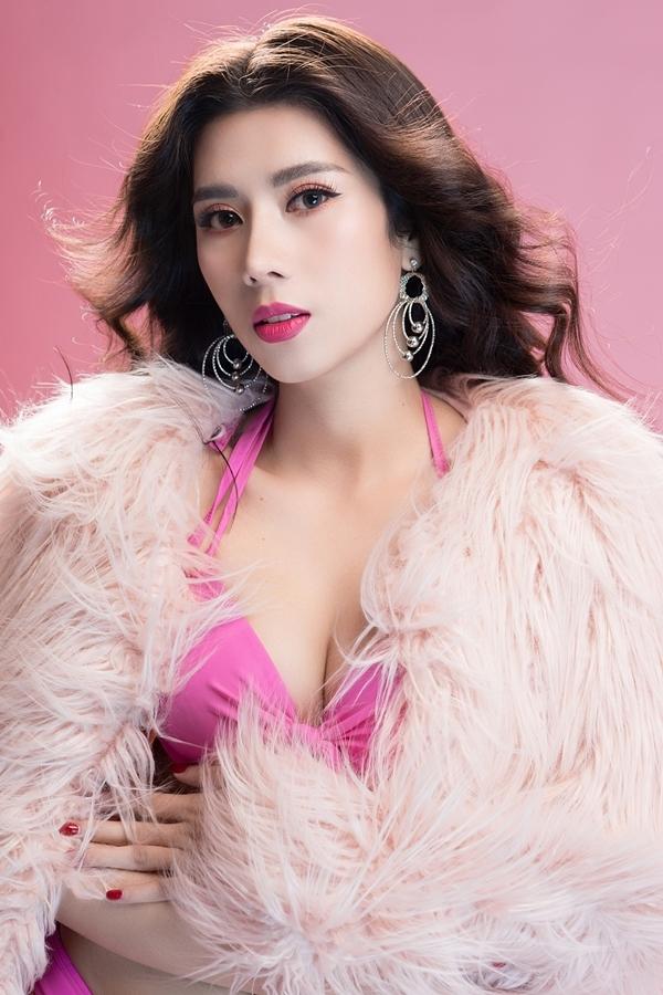 Hình thể người đẹp Nha Trang thi Hoa hậu Du lịch Quốc tế 2019 - 2