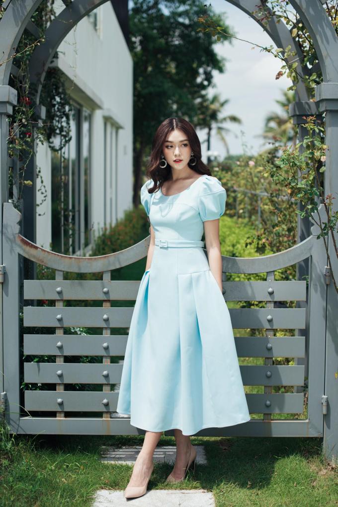 Á hậu Tường San với trang phục đậm chất nàng thơ cho ngày 20/10 (xin edit) - 6