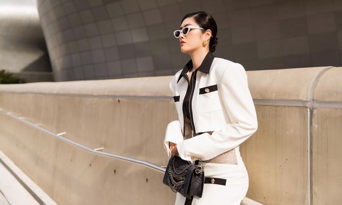 Huỳnh Tiên dự Seoul Fashion Week