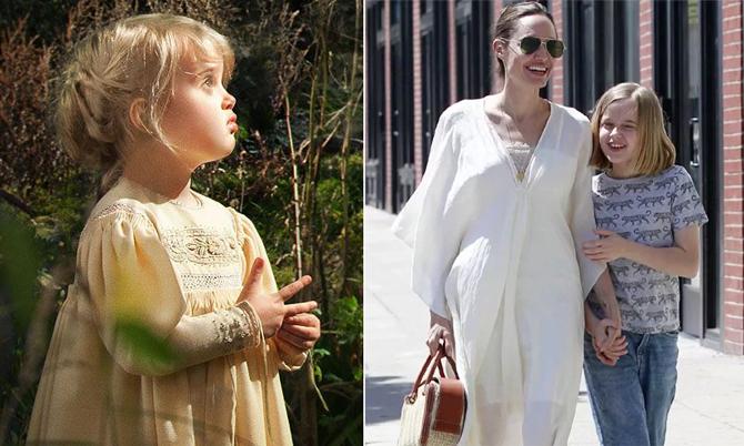 Con gái út Jolie sau 5 năm đóng 'Tiên hắc ám'