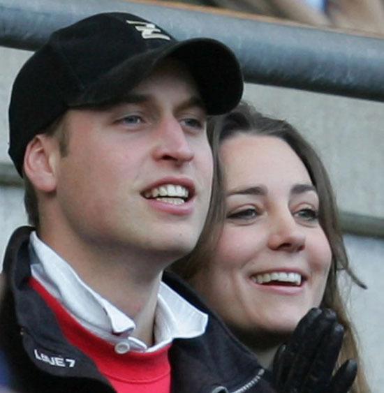 Kate và William thời hẹn hò. Ảnh: AP.