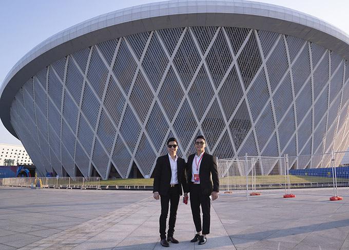 LHP Quốc tế Trung Quốc lần thứ sáu được tổ chức tại Trung tâm Thể thao Olympic Phúc Châu, tỉnh Phúc Kiến.