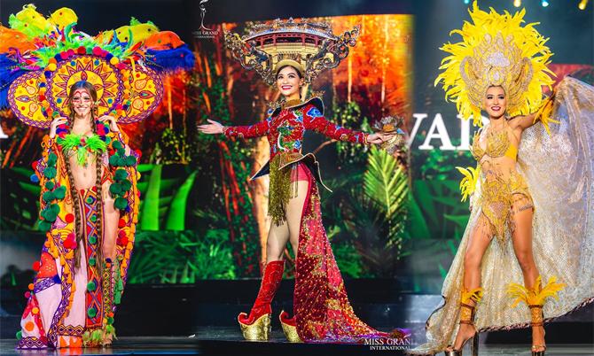 Trang phục dân tộc của thí sinh Miss Grand