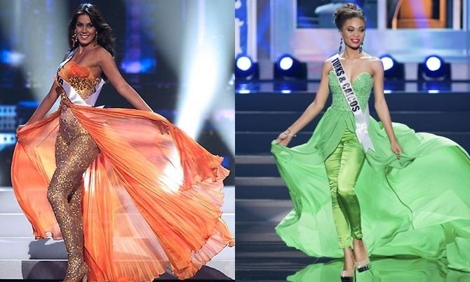 Những thí sinh hoa hậu quốc tế diện jumpsuit