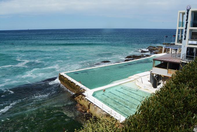 Bondi Icebergs - bể bơi nước biển tự nhiên trên bãi biển Bondi, cách trung tâm Sydney khoảng 8 km. Ảnh: Nguyên Chi