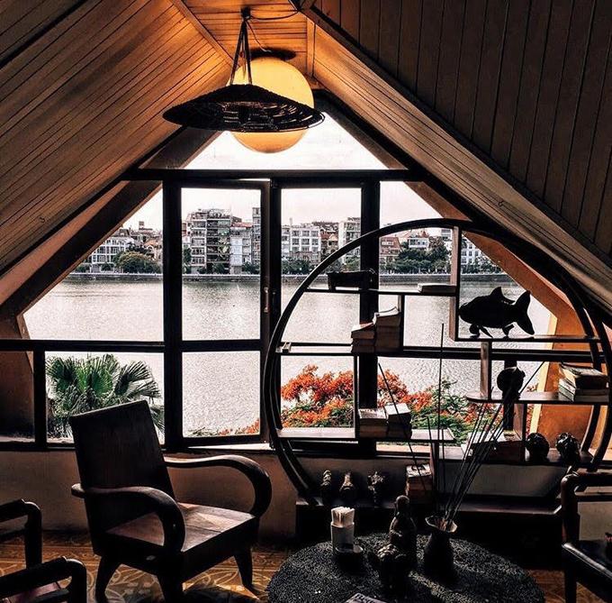 Địa chỉ cuối tuần: ba quán cà phê đẹp mạn hồ Tây - 2
