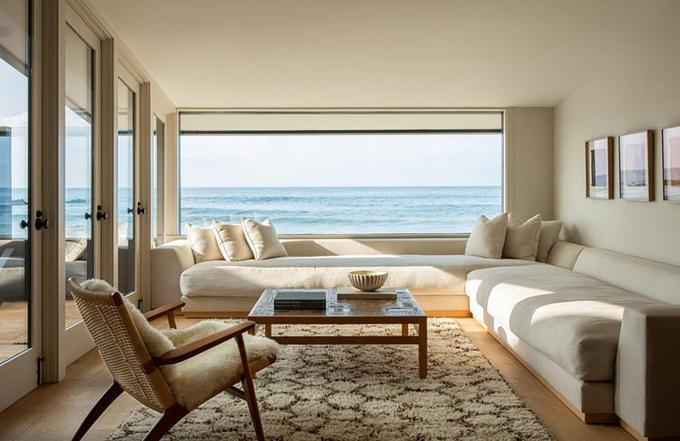 Biệt thự của gia đình Jason Statham có view quyến rũ nhìn rađại dương.