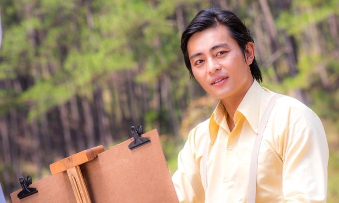 Quốc Huy đang được yêu thích với vai Thanh Bình - phim Tiếng sét trong mưa.