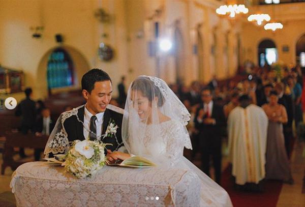 Ngày 4/11/2012, Tăng Thanh Hà và Louis Nguyễn nói lời thề nguyền, chính thức trở thành vợ chồng trong hôn lễ ở Phillipines, quê mẹ của chú rể.