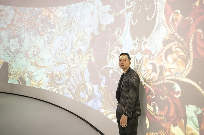 Nhà thiết kế Lê Ngọc Lâm.