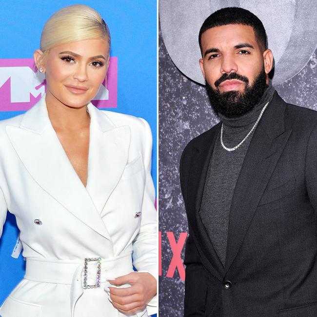 Kylie và rapper Drake.