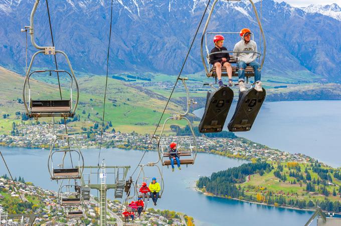 Nhiều trò chơi thú vị tại New Zealand được du khách yêu thích.