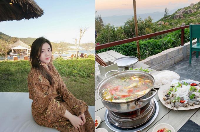 Em gái Ông Cao Thắng mê check in đồ ăn - 2