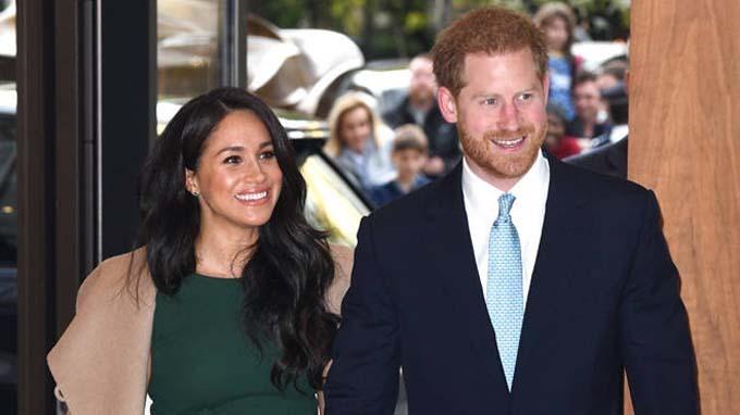 Vợ chồng Hoàng tử Harry tham dự một sự kiện ở London hồi tháng trước. Ảnh: PA.