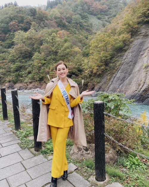 Phần lớn hoạt động của cuộc thi diễn ra ở tỉnh Niigata - miền Trung Nhật Bản. Tường San đặt chân tới hẻm núiKiyotsukyo. Nơi đây có một đường hầm đi bộ, một hẻm núi tự nhiên với điểm quan sát được bao quanh bởi vách đá dựng đứng, phía dưới là dòng sông xanh biếc.