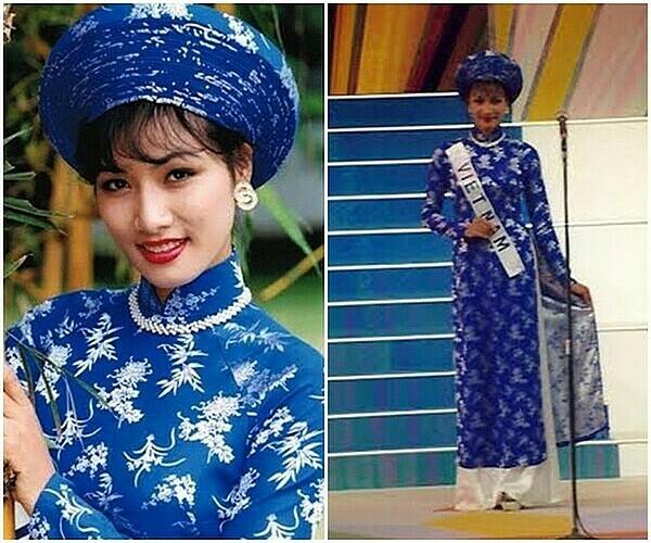 Ba lần áo dài thắng giải Trang phục dân tộc đẹp nhất