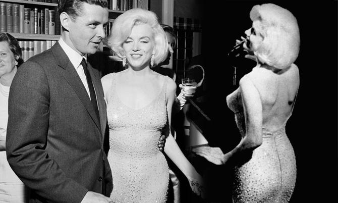 Marilyn Monroe không mặc nội y khi hát tặng Kennedy