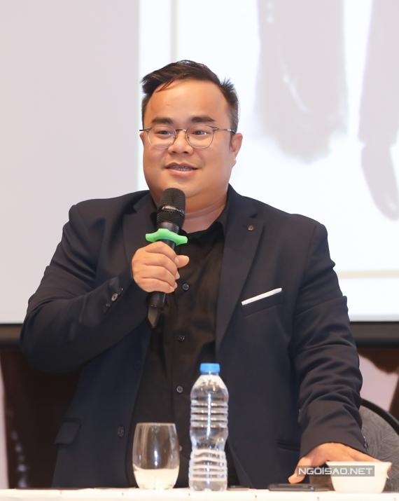 Ông Minh Hoàng - giám đốc sản xuất chương trình bày tỏ êkíp nỗ lực mang đến một chương trình biểu diễn nghệ thuật chất lượng, nối tiếp thành công 4 mùa trước..
