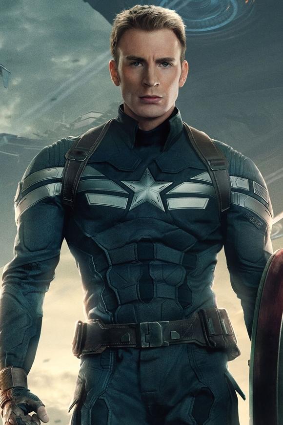 Chris Evans là lựa chọn hoàn hảo cho nhân vật Captain America.