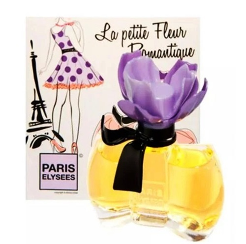 Nước hoa nữ Paris Elysees La Petite Fleur Romantique với hương thơm sang trọng, phảng phất hương Chypre, cam Bergamot, hoa nhài, hoa hồng, hương vani và cây hoắc hương... Sản phẩm thích hợp sử dụng trong các bữa tiệc sang trọng, họp mặt gia đình và đi chơi với bạn bè. Sản phẩm đang giảm 35% trên Shop VnExpress, còn 812.500 đồng (giá gốc 1,25 triệu đồng).