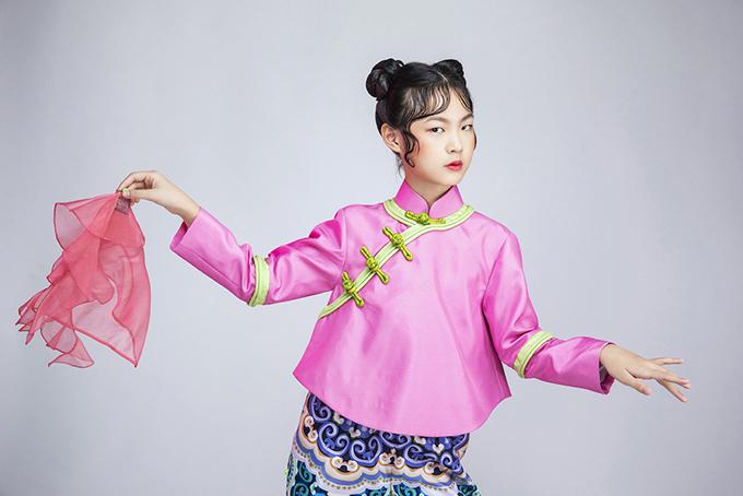 Eva Wu là một trong những thành viên mới nhất của câu lạc bộ Pinkids.