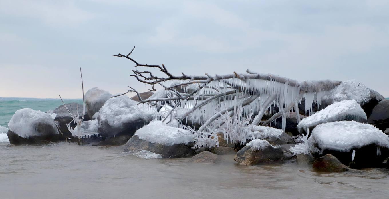 Mùa đông Canada đến sớm