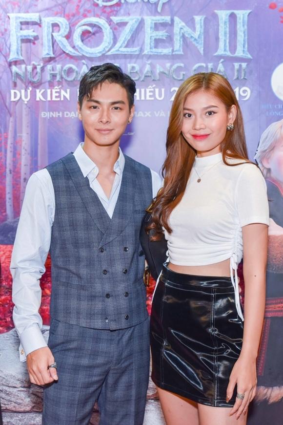 Vợ chồng ca sĩ Jay Quân - người mẫu Chúng Huyền Thanh.
