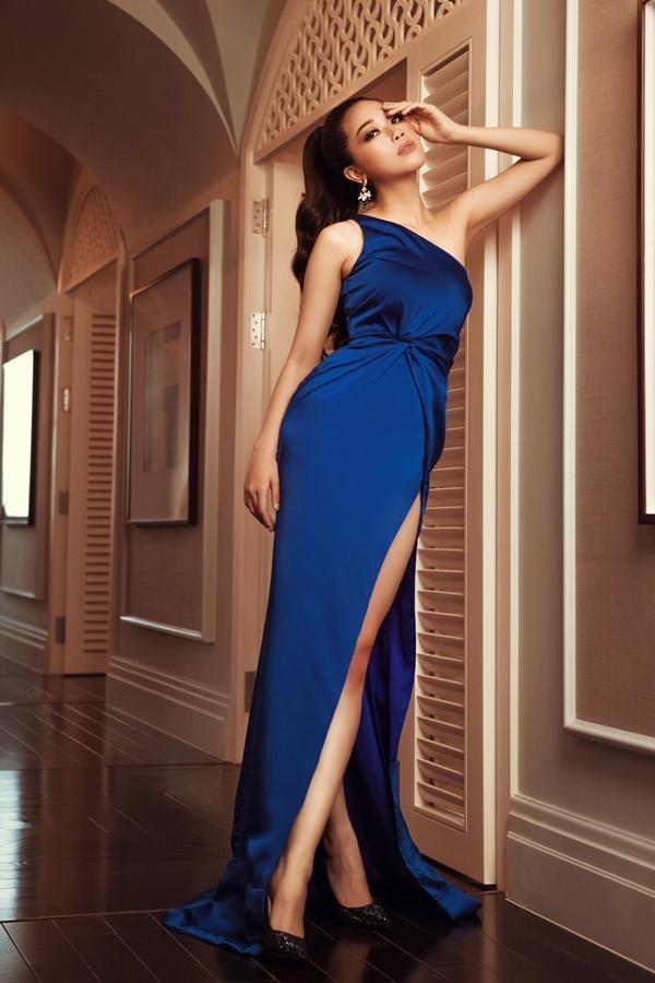 Vũ Quỳnh Trang dần bứt phá qua các tập truyền hình thực tế Tôi là Hoa hậu Hoàn vũ Việt Nam.