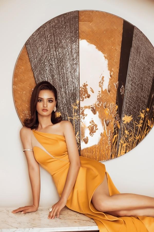 Top 45 Hoa hậu Hoàn vũ Việt Nam diện dạ hội khoe dáng (2) - 2