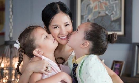 Hồng Nhung: 'Hai con là động lực cho tôi mạnh mẽ hơn'